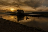 Lac_Malbuisson_Doubs_Coucher_Soleil
