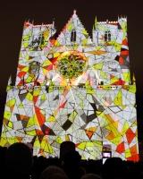 Lyon Fêtes des Lumières_Cathédrale Saint Jean